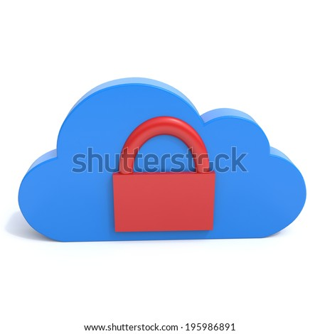 cloud as a space for storage of secure information