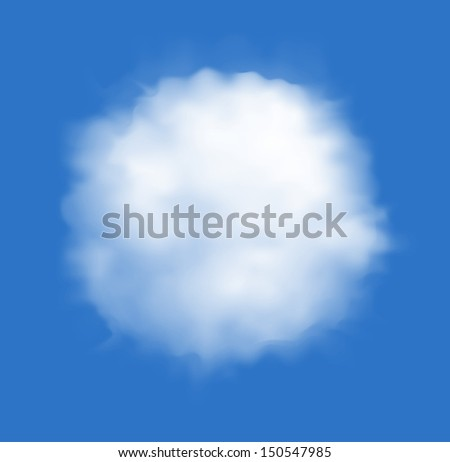 cloud backgrounds - RASTER version - stock photo