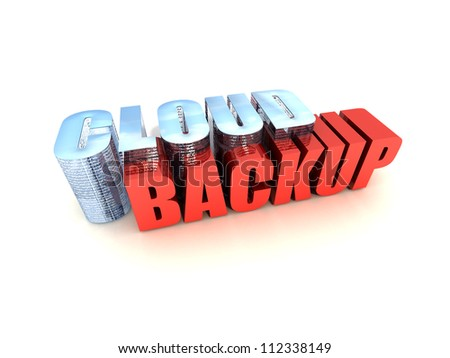 Cloud Backup - stock photo