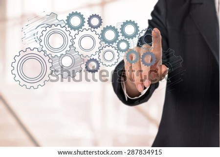 Cloud, Cloud Computing, Technology. - stock photo