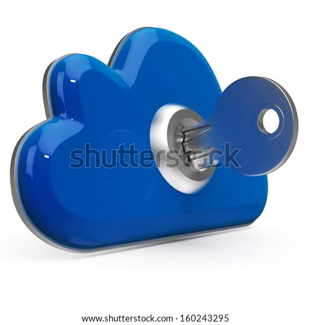 Cloud Computing Key Means Internet Data Security