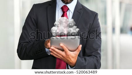 Cloud computing tablet