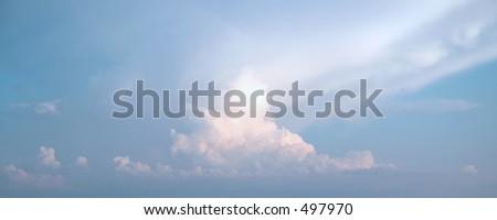 Cloud five - stock photo