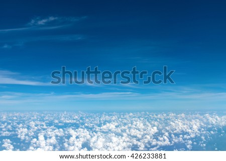 Cloud from the sky - stock photo