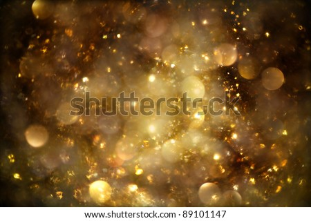 Cloud of Stars Background - stock photo