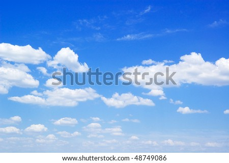 cloud sand sky - stock photo