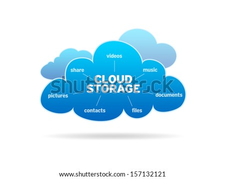 Cloud Storage - stock photo