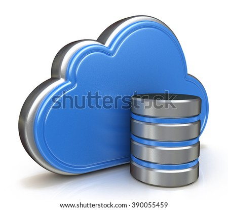 Cloud storage concept in the design of information related to internet