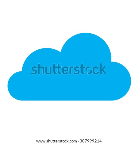 Cloud Symbol Stock Illustration 307999214 Shutterstock