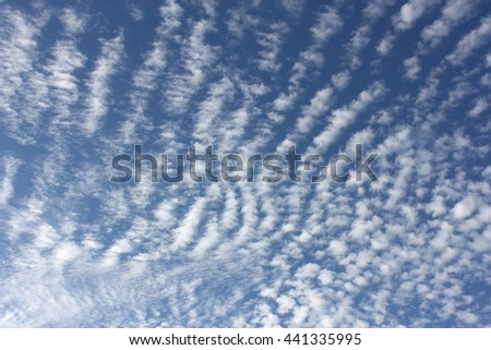 Cloud Textures with Blue Sky 14 - stock photo