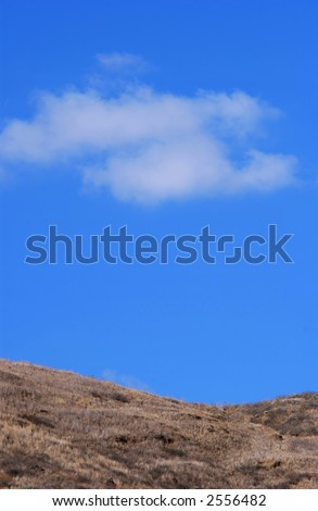 clouds and blue sky - stock photo