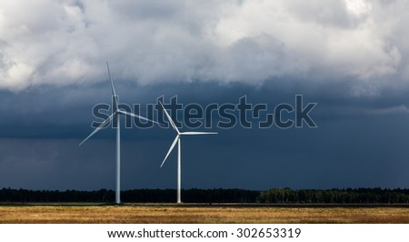 Clouds and green energy