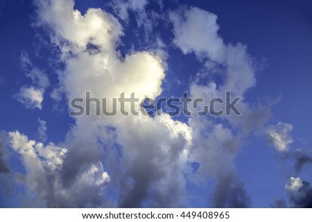 Clouds background, wallpaper, texture clouds, sky