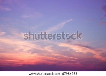 Clouds Photo Background - stock photo