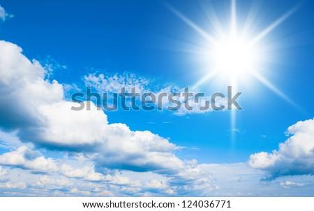 Cloudscape Divine Clean Air - stock photo