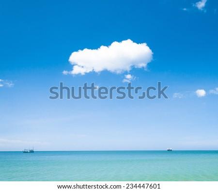 Cloudscape Divine Heaven Wallpaper  - stock photo
