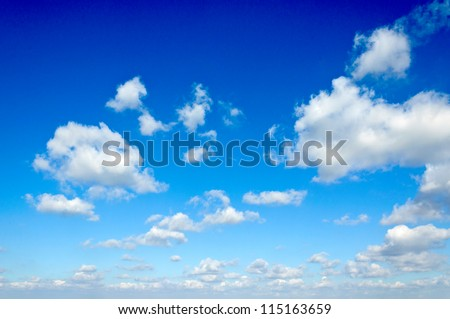 Cloudscape over Belgrade city - stock photo