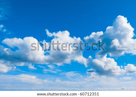 Cloudscape Spectacular - stock photo