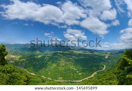 Cloudscapes - stock photo