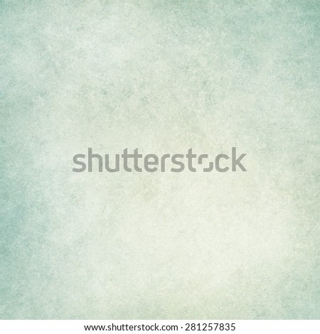 cloudy blue green background with textured grunge paint design - stock photo