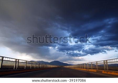 Cloudy Future - stock photo