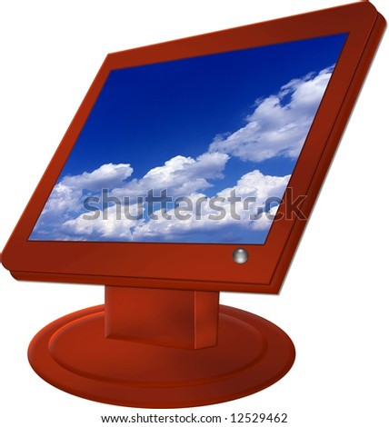 cloudy monitor