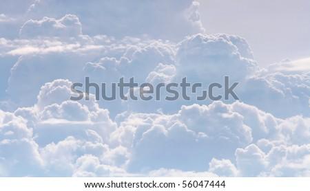 Cloudy Pattern - stock photo