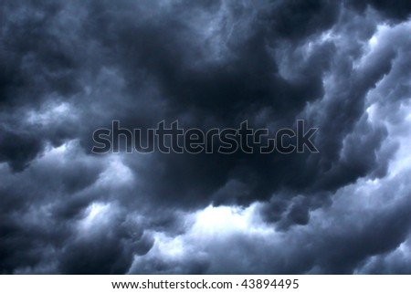 Cloudy Smoky Texture - stock photo