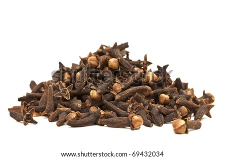 Cloves Isolated - stock photo