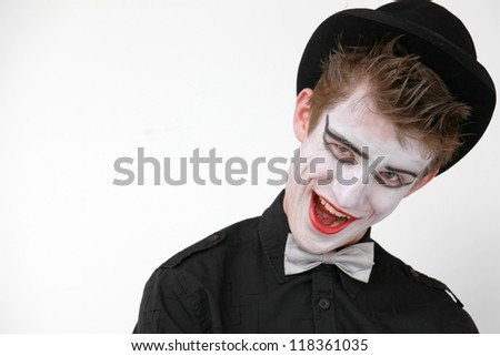 clown - stock photo