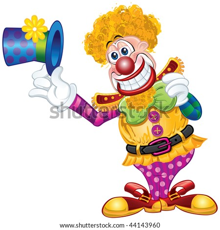 Clown Happy Cartoon