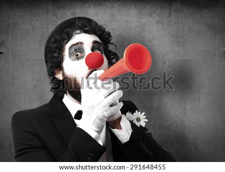 clown in a party