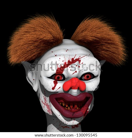 Clown killer is on hunt for next victim