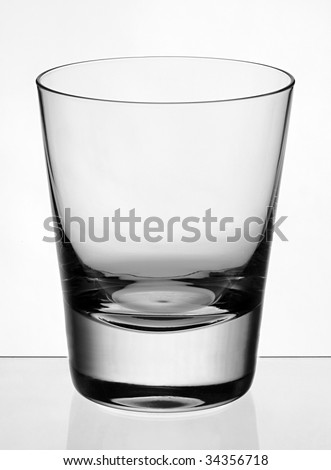 club old fashion whiskey glass isolated clean
