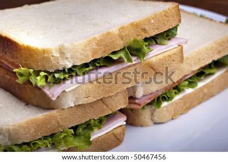 Club Sandwich, tasty and healthy
