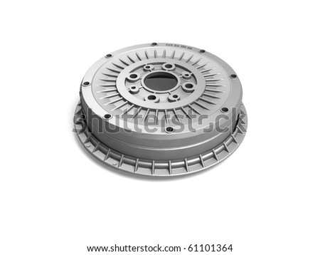 Clutch auto parts - stock photo