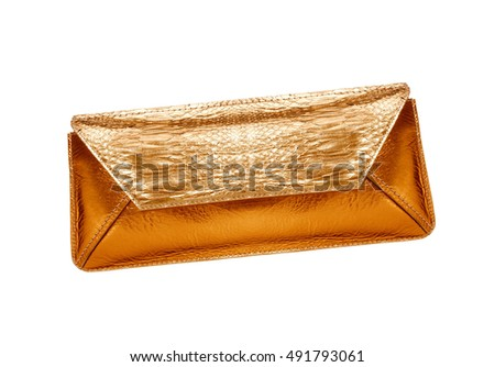 Clutch isolated on white background