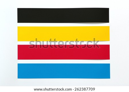 CMYK  background color used in printing. - stock photo