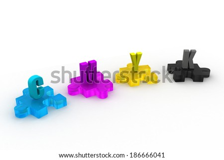 Cmyk color in puzzles