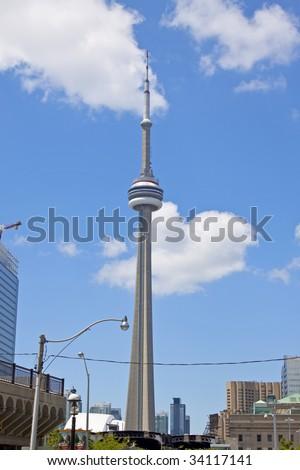 CN Tower, Toronto - stock photo