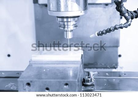 CNC machine - stock photo