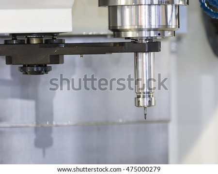 CNC machining center 3 axis cutting mold by endmill cad cam