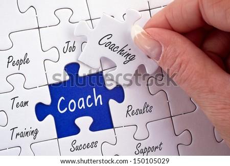 Coach and Coaching - stock photo