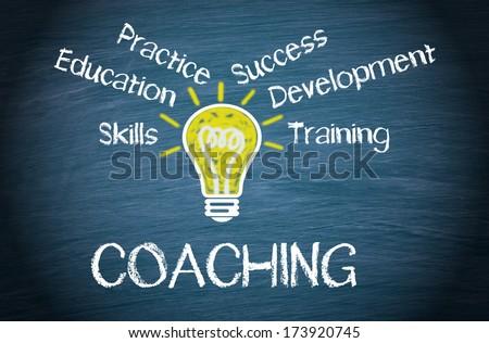 Coaching - stock photo