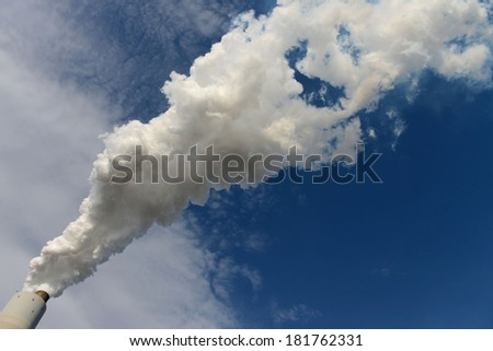 Coal-fired power plant, Pennsylvania - stock photo