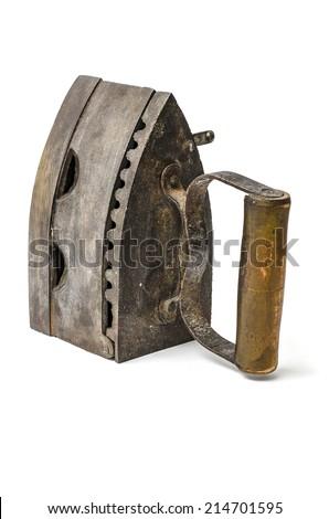 coal iron - stock photo
