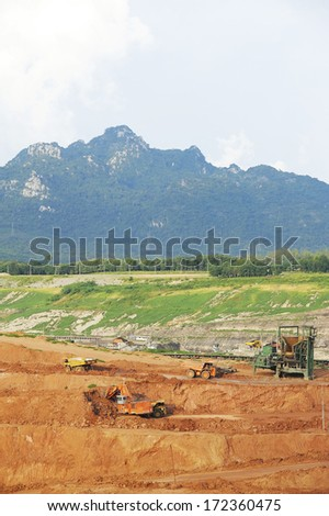 Coal mine - Electricity - Lignite Coal - Coal mine  industry in Thailand