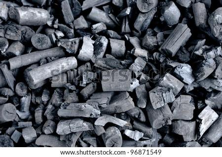 Coal seamless background - stock photo