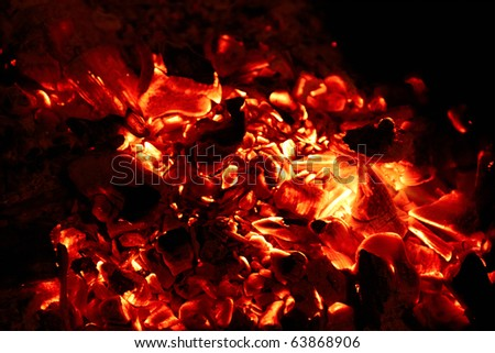 Coals - stock photo