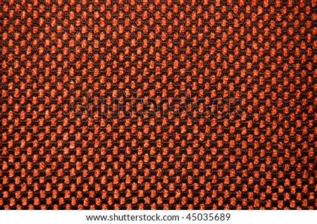 coarse fabric background - stock photo